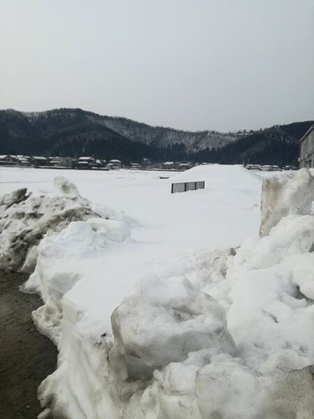 180228_雪が積もった試験場